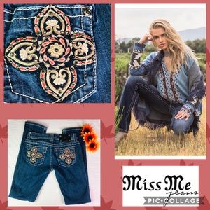 Miss me jeans straight Leg size 27